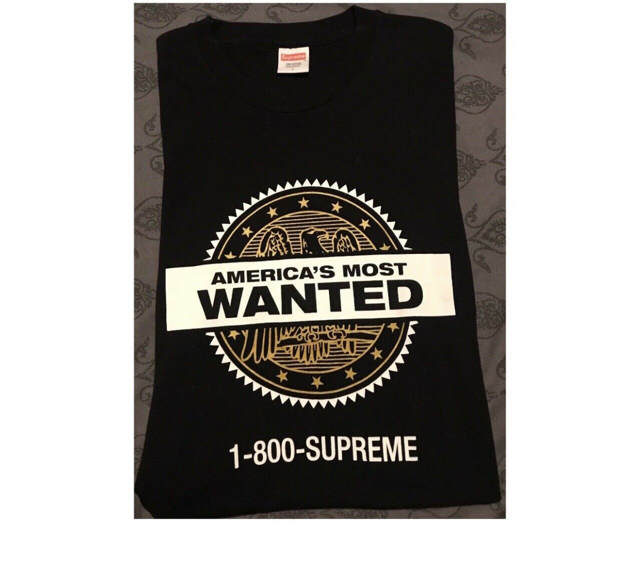 Supreme  America's Most Wanted T
