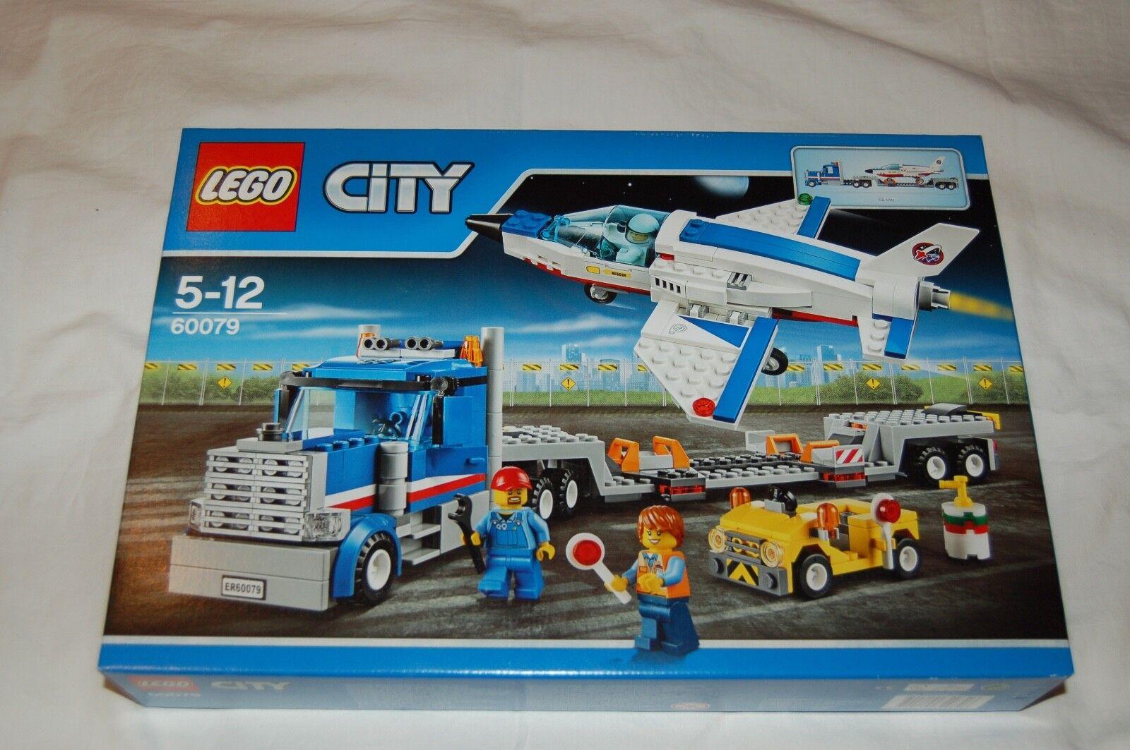 Lego City 60079 weltraumjet avec transporteur Nouveau  S'adapte à 60078,60080,60103,3368