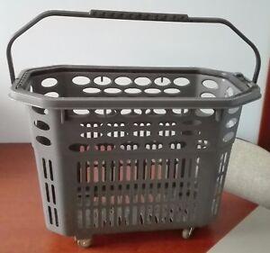 Koszyk-sklepowy-na-ko-kach-szary-Shopping-basket-on-wheels