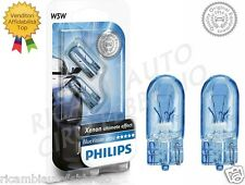 Lampade Philips T10 W5W Blue Vision Ultra Lampadine di posizione Fari Auto Moto