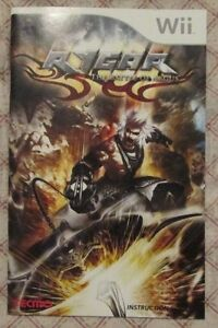 Nintendo-Wii-Rygar-the-battle-of-Argus-Manual-only