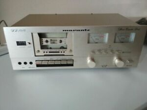 Marantz-SD1010-Stereo-Cassette-Deck-Vintage-Metal-Tape-Player-TOP-Hi-End