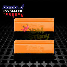 2x Mini Felt Edge Squeegee Scraper Vinyl Wrap Decal Sticker Application Car Tool