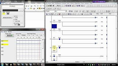 Plc Software Ladder Programming Virtual Automation Learn Logic Controller System Ebay