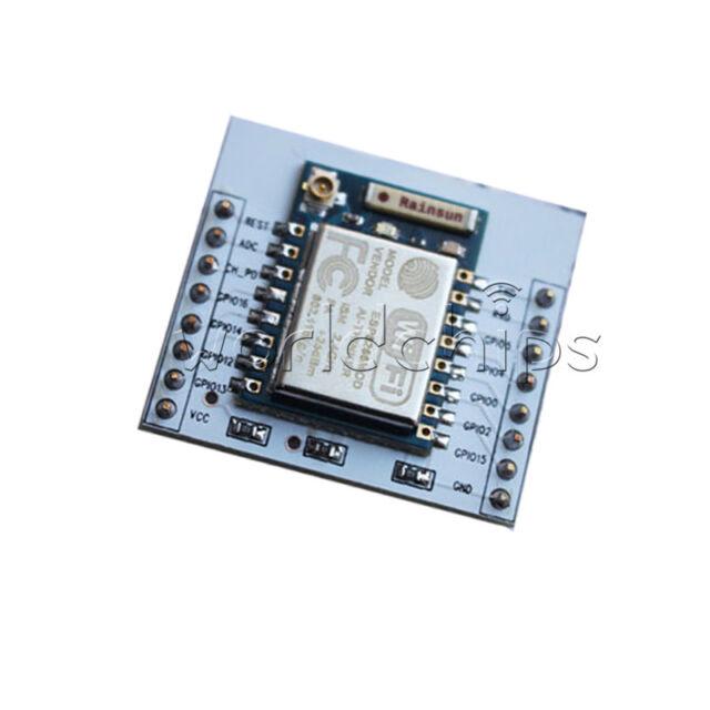 ESP8266 Serial Port Wireless WIFI Module + IO Adapter Plate Expansion ESP8266-07