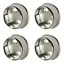 Wardrobe-Rail-Rod-End-Supports-Brackets-Sockets-Round-25mm-Chrome-Plated-Finish thumbnail 5