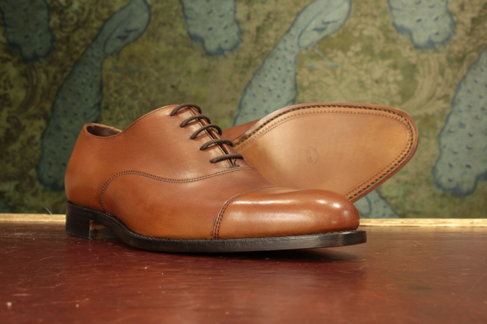 Loake Holborn Mahogany Oxford Schuhes 8G - NEU Seconds RRP £200 (16763)