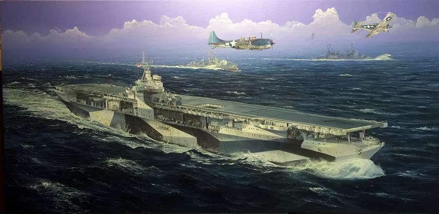 TRUMPETER 1 350 USS Ranger CV-4 Aircraft Carrier
