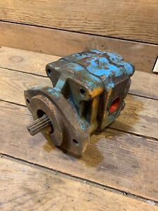 Permco Hydraulic Pump EA-0574-3 Joseph Industries D53690 Used Part Blue Rebuild