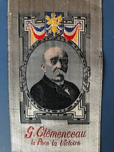 Silk-Woven-Georges-Clemenceau