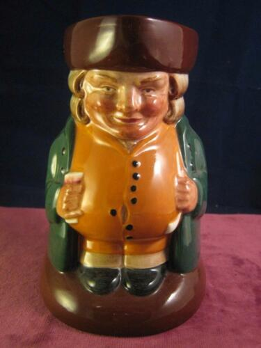 Rare Royal Doulton The Squire D6319 Character Toby Jug Well Painted Retired