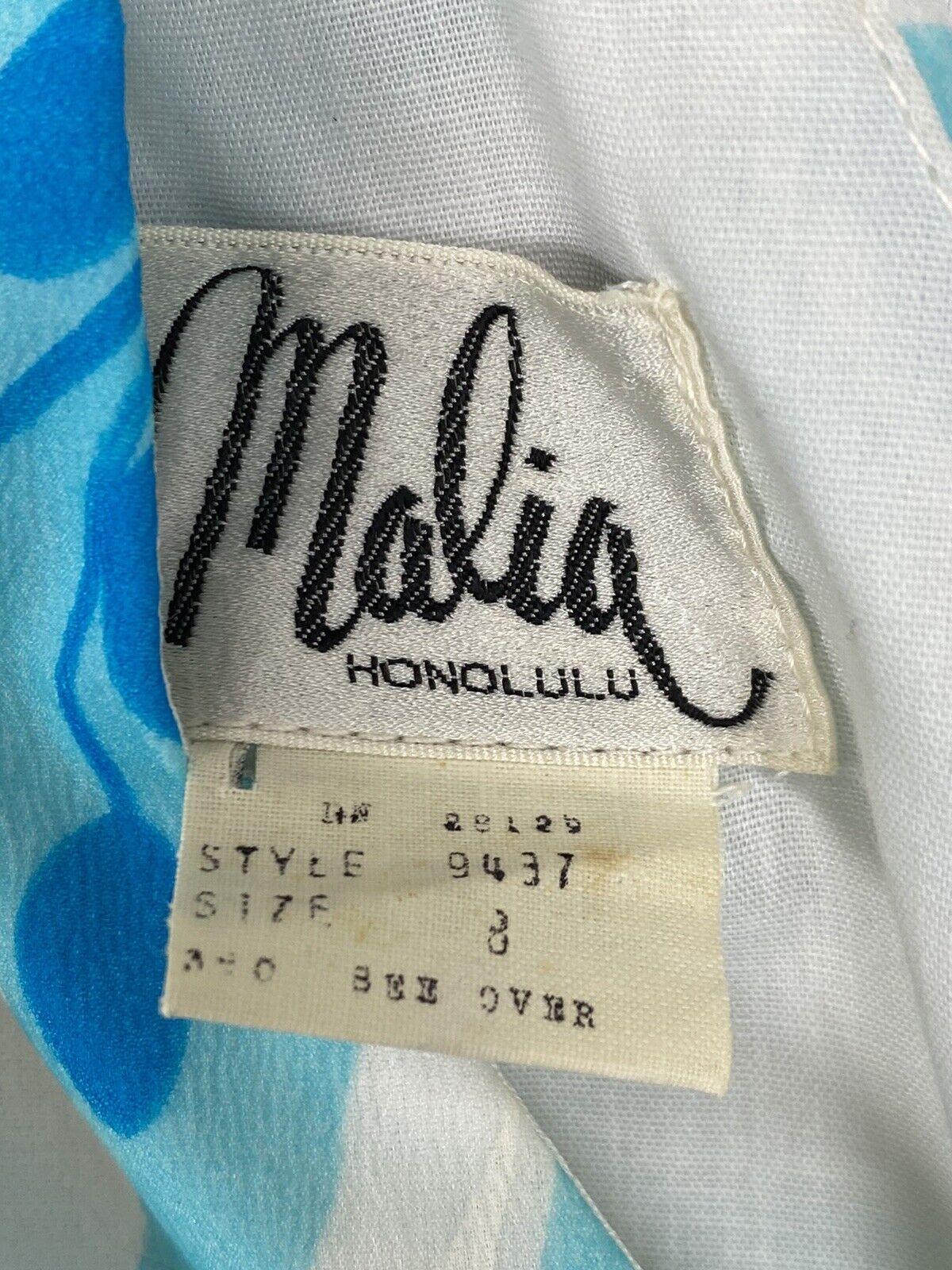 Vintage 60s Malia Honolulu Dress Size 8 Empire Wa… - image 5
