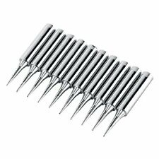 Soarup 10pcs Sharp Soldering Replacement Solder Iron Tips For 900m T I Statio
