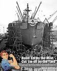 Build 'em by the Mile, Cut 'em Off by the Yard: How Henry J. Kaiser and the Rosies Helped Win World War II by Steve Gilford (Paperback / softback, 2011)