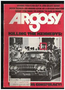 Argosy Magazine July 1975 JFK RFK Conspiracy Theories J Edgar Hoover