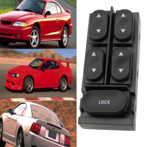 Master Power Window Switch For Ford Mustang Convertible Escort Mercury Tracer US