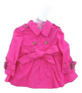 66c9909f4 RALPH LAUREN baby girls PINK TRENCH COAT 6 9M (75cm) BNWT ...