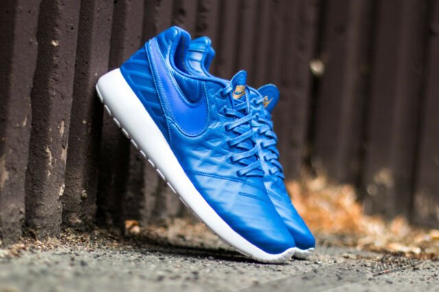 252d77793f SOPHNET X Nike Roshe Tiempo VI QS One Run Blue Leather Mens Running ...