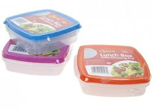 Salad-To-Go-With-Dressing-Pot-Snack-Food-Lunch-Box-Container