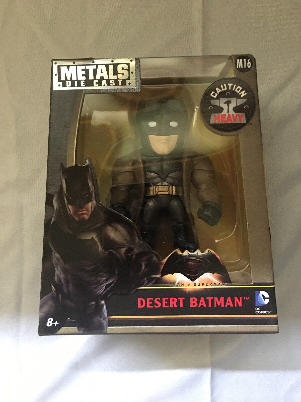 JADA M16 Batman v Superman  Dawn of Justice Knightmare Batman 4-Inch DieCast Fig