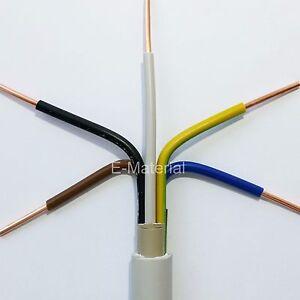 Kabel Nym J 5x1 5 Mm 50m Ring Elektrokabel Mantelleitung