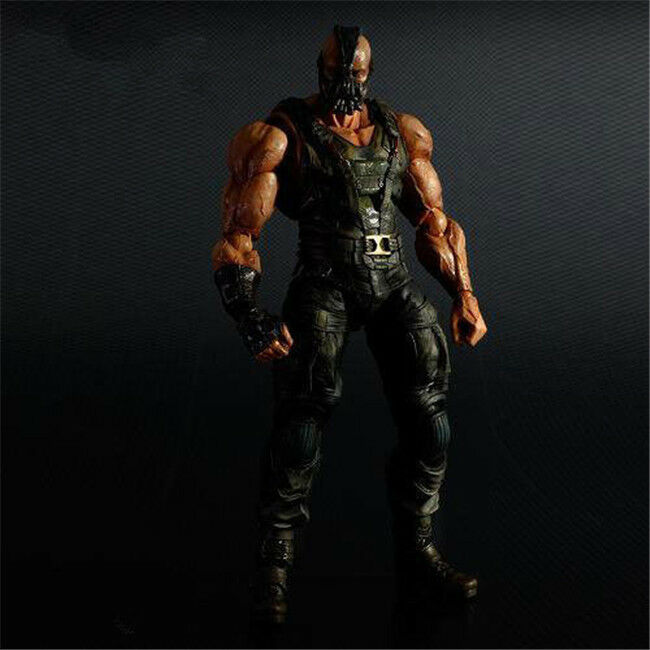 Play Arts Kai Batman The Dark Knight Trilogy Bane PVC Action Figure Nuovo In Box