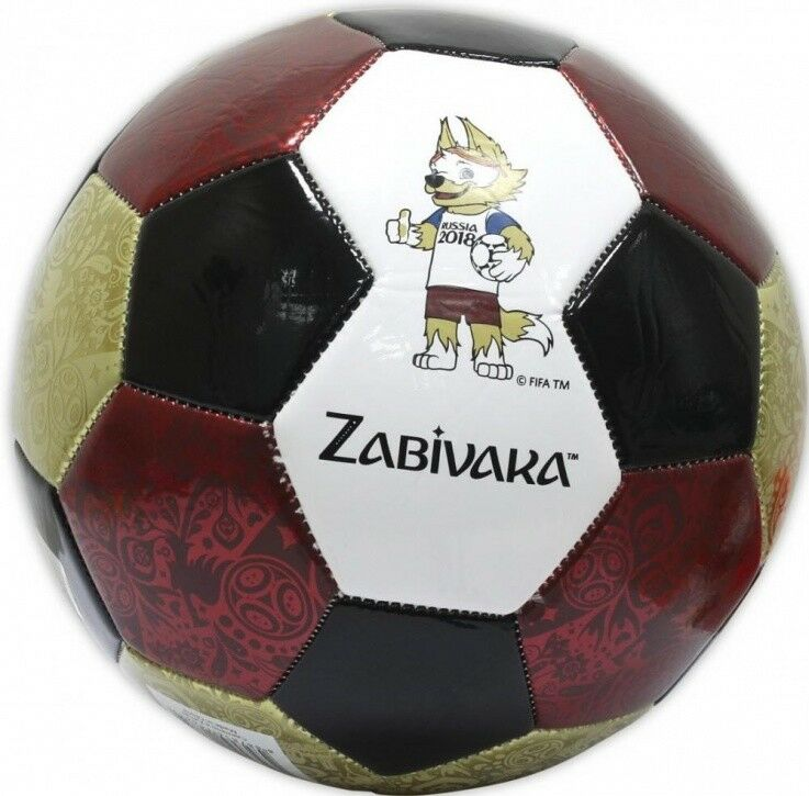 2018 FIFA WORLD CUP SOCCER BALL BIG RUSSIA ZABIVAKA SOUVENIR