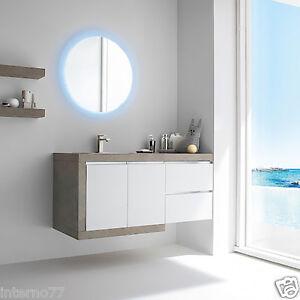 JACANA JA13 – Mobile luxury arredo bagno L.126 cm personalizzabile ...