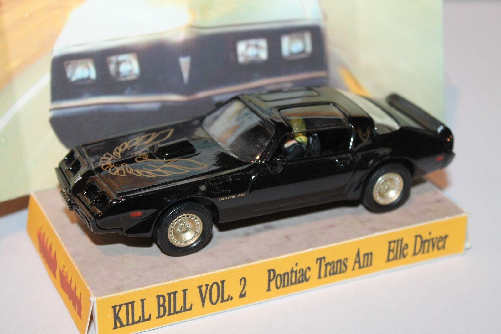 KILL BILL 2  PONTIAC TRANS AM  ELLE DRIVER  CODE 3   UNIKAT  | Vielfältiges neues Design