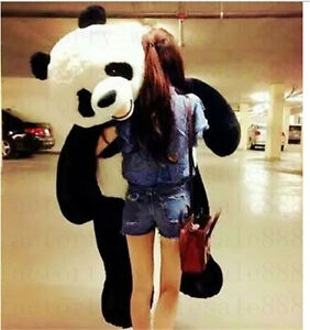 Big-Giant-Doll-Panda-Stuffed-Plush-Animal-Pillow-Kids-Birthday-Toy-Xmas-Gift72-039-039