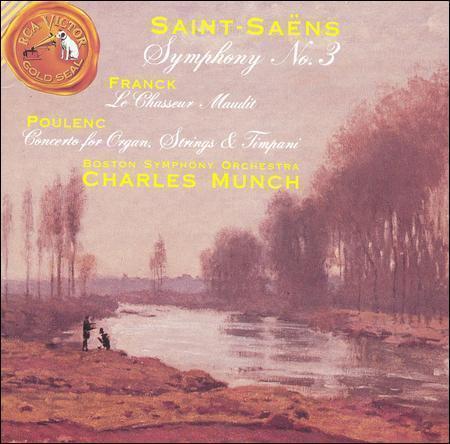 Saint-Saens Symphony No. 3 Poulenc Concerto For Organ, Strings Timpani ... - $2.40