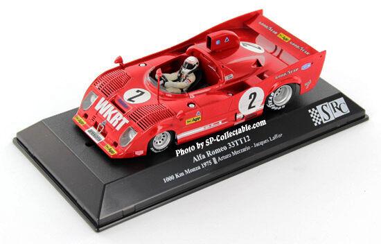 SLOT SRC 00702 Alfa Romeo 33TT12 - 1000 Km Monza 1975 - A.Merzario & J.Laffite