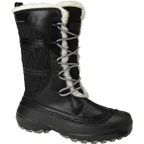 Columbia Heather Canyon Imperméable Omni-Heat Hiver Bottes Noires Taille 5 To 7.5 m
