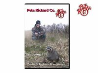 Pete Rickard - Trapping 101 Instructional Dvd Furbearer Trapping Techniques