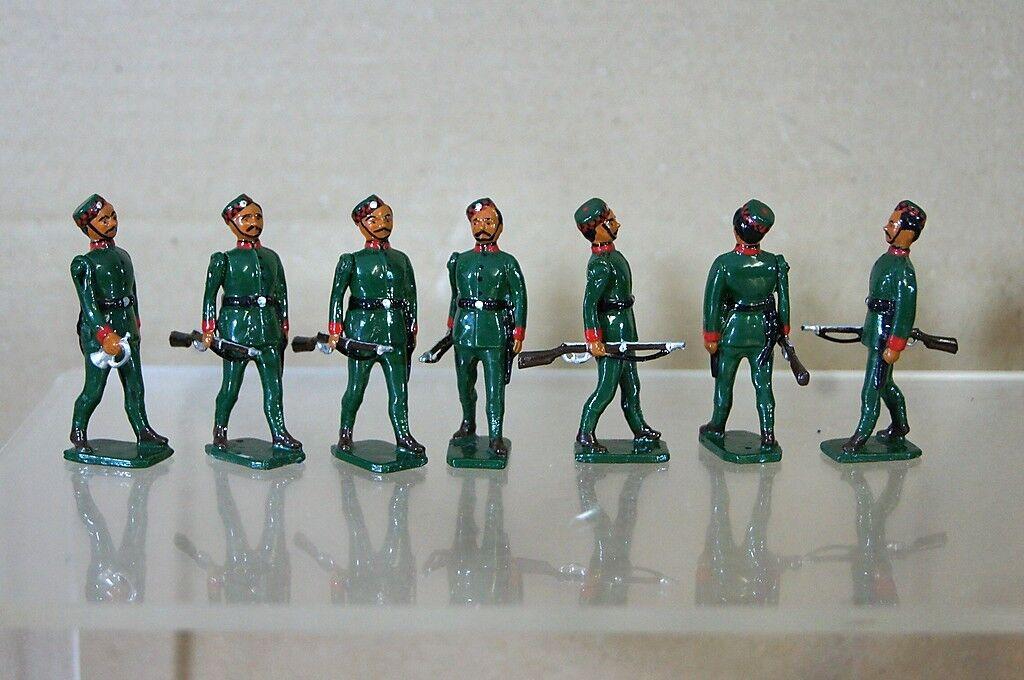 Réplica Modelos Patricio Campbell Britains II Guerra Mundial Gurkha Infantry