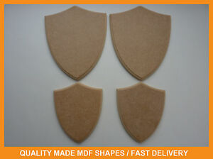 Image Is Loading 12mm MDF Wooden Craft Shapes Shield Trophy Plaques