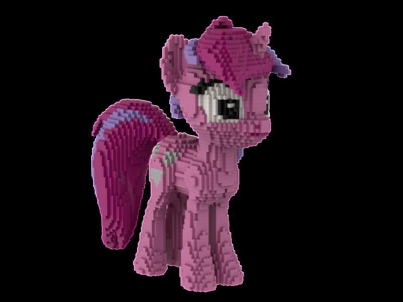 LEGO My little pony statue building instruction