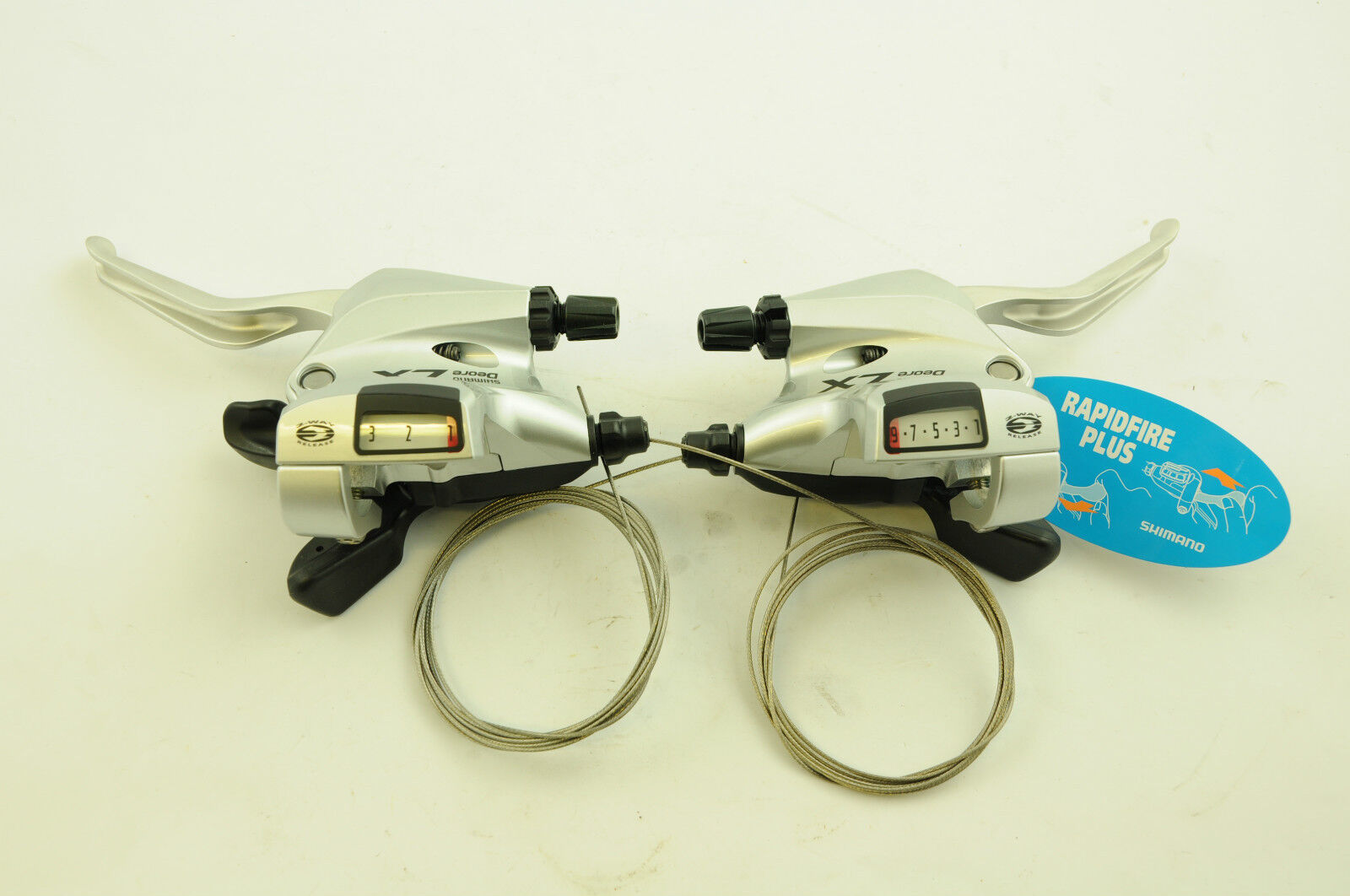 PAIR SHIMANO DEORE LX ST-T660 RAPID FIRE SHIFTERS  LEVER SET 27 SPEED LOW PRICE