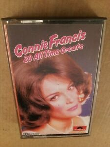 Connie-Francis-20-All-Time-Greats-Vintage-Cassette-Tape-Album-from-1977