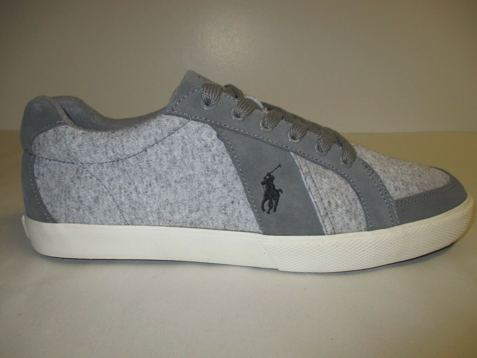 Polo Ralph Lauren Sze 7.5 M HUGH Twisted Heather Fashion Sneakers New Mens Shoes