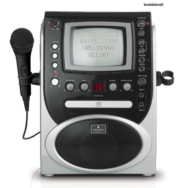 Singing machine professional karaoke machine