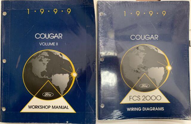 1999 Cougar Ford Mercury Oem Wiring Diagrams  U0026 Workshop