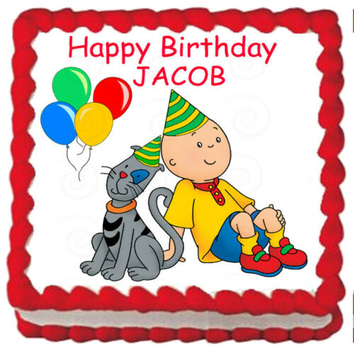 CAILLOU Edible Cake topper image Party decoration