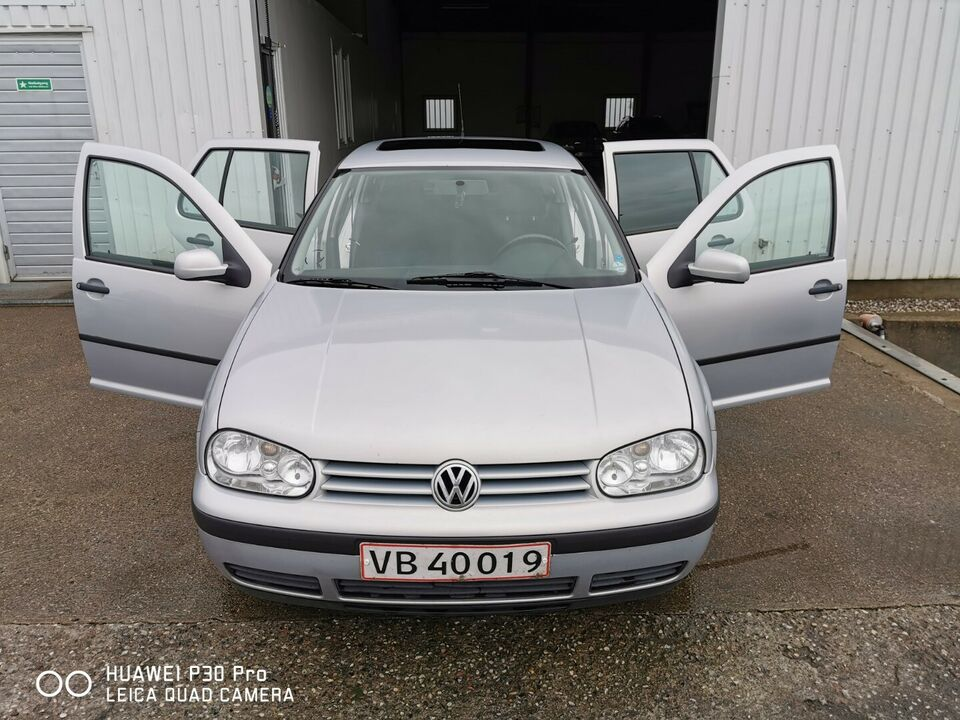 VW Golf IV 1,8 Comfortline Benzin modelår 1999 km 263000 ABS