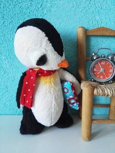 Sewing pattern for 7,5 inch penguin