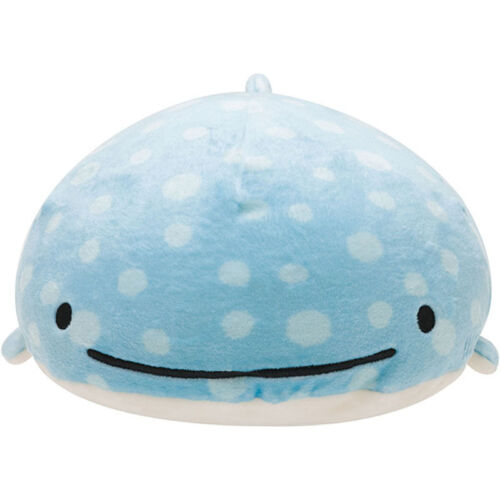 "2017 New 17"" Big Sanx Whale Shark Plush Doll JinbeiSan Plush Toy Super ow"