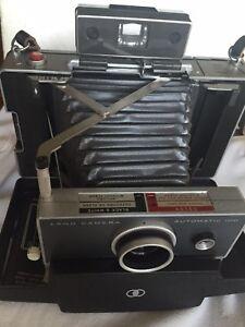 vintage polaroid land camera automatic 100 model 268 w manual ebay rh ebay com Polaroid 215 Land Camera Film polaroid land camera automatic 100 battery