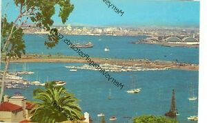 CALIFORNIA-SAN-DIEGO-FROM-POINT-LOMA-VINTAGE-VIEW-CA-S3