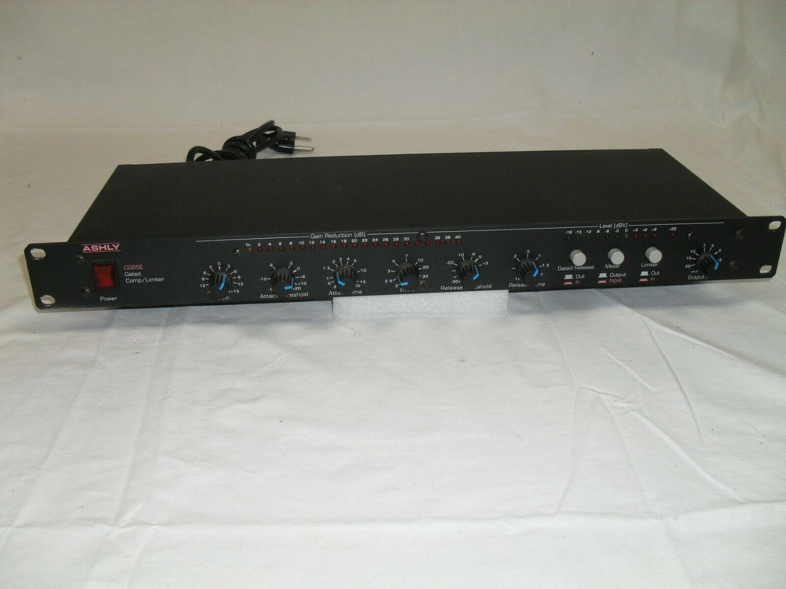 Ashly CG85E Gated Compressor Limiter in good condition