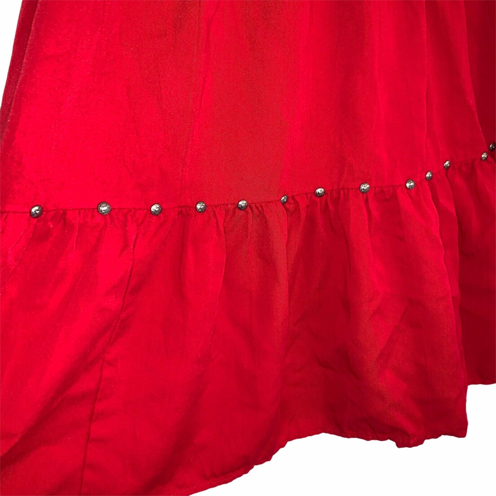 Western Collection Size Small Vintage Red Studded… - image 3
